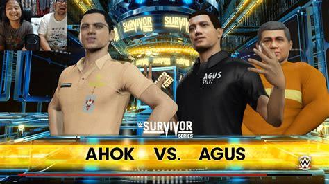 ahok vs ahok vs agus wwe 2k16 indonesia youtube