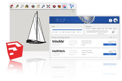 sketchup layout print quality 3d printing from sketchup with a click 3yourmind