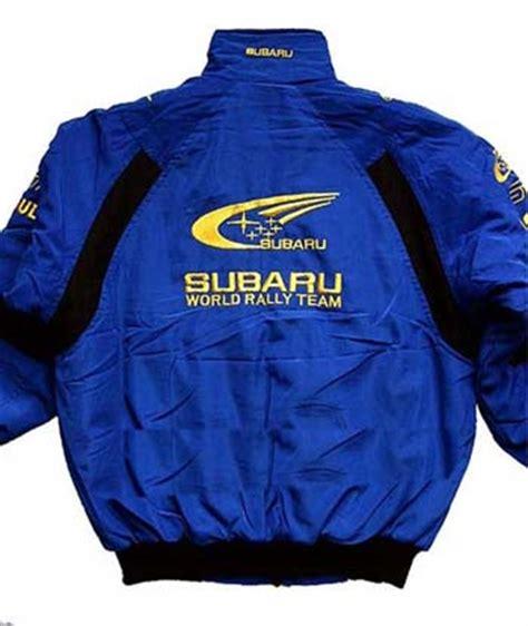subaru rally jacket subaru racing jackets