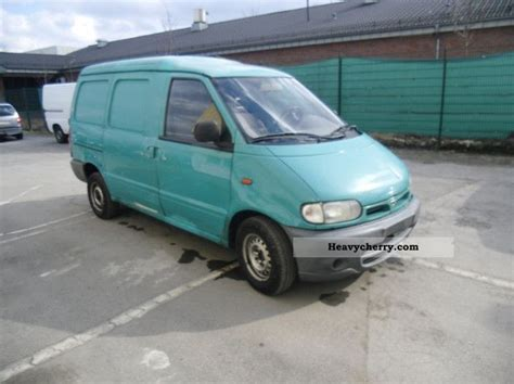 nissan vanette pick up box type delivery van van or truck up to 7 5t commercial