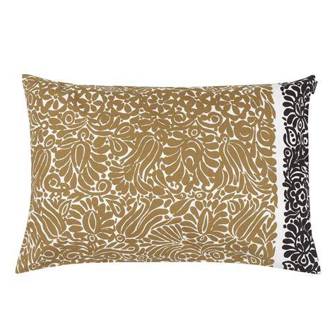 marimekko katjuusa black gold lounge pillow marimekko sale