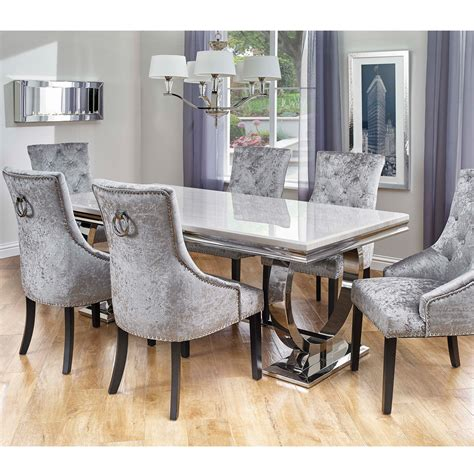 table and chairs cookes collection valentina dining table and 6 chairs