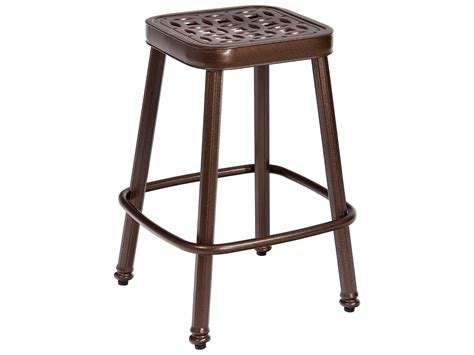 rectangle bar stool covers woodard casa square bar pad square counter stool pad
