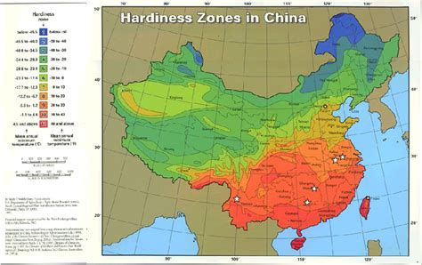 which gardening zone am i in the hardiness zones of the us and china warmest record
