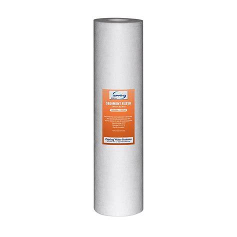 Filter Air Cartridge Filter Big 20 ispring 123filter 20 in x 4 5 in 5 micron big blue sediment water filter replacement cartridge