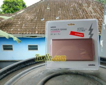 Powerbank Di Miniso review ponsel ponsel android windows phone linux