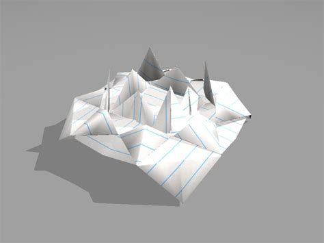 Origami Ufo - 3d origami ufo