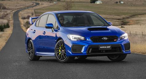 subaru sti 2018 subaru wrx wrx sti pricing and specs tweaked looks