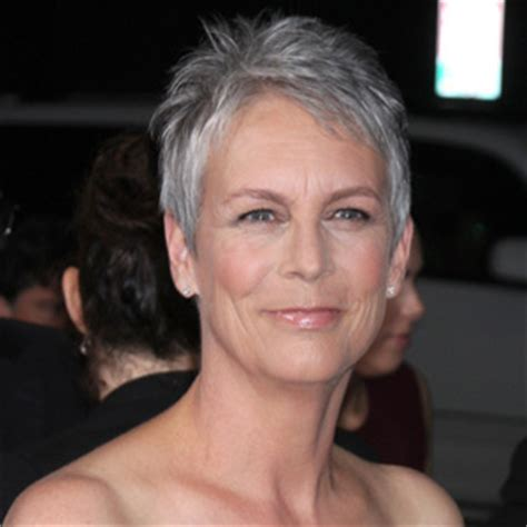 older actress short hair 12 celebrities who look better with gray hair