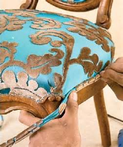 Upholstery Tutorials Furniture How To Upholster A Chair How To Upholster A