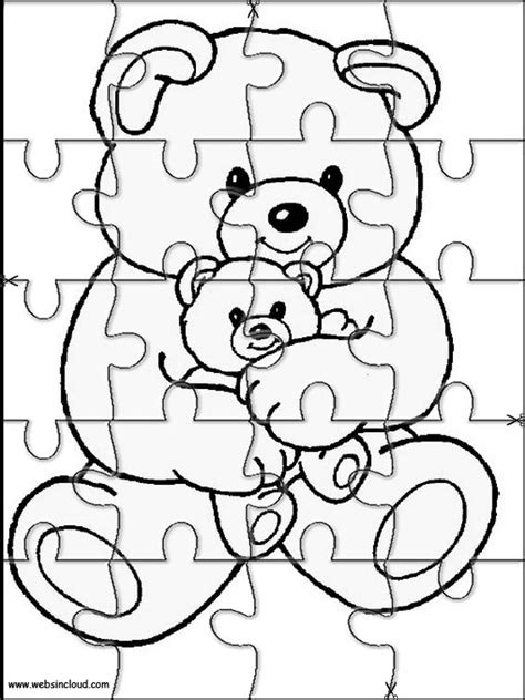 printable puzzles for kids printable jigsaw puzzles to cut out for kids animals 11
