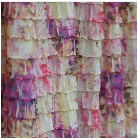 purple ruffle shower curtain items similar to ruffle shower curtain pink cream and