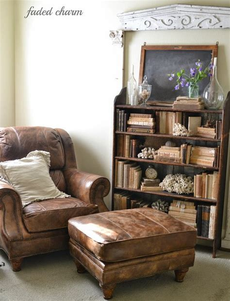 Chair And Ottoman Leather Chairs And Ottomans On Pinterest Leather Reading Chair And Ottoman