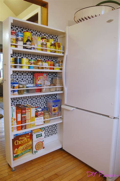 17 best ideas about pull out pantry shelves on
