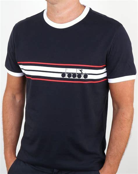 T Shirt T Shirt Diadora diadora serifos og t shirt blue corsair s crew neck