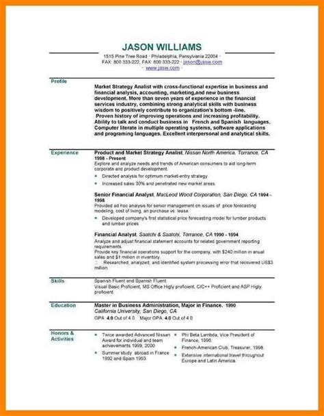 how to write personal profile in resume personal summary resume exles inspirational exles