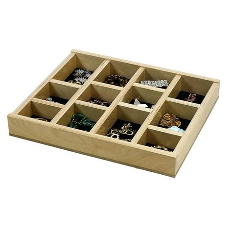 Jewelry Tray Drawer Inserts by Jewelry Tray Organizer Insert G Cl 18 201 16 3 8 Quot Wide