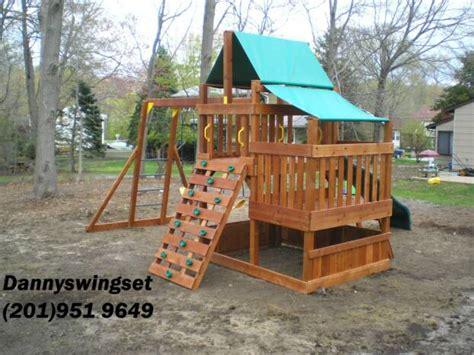 costco swing sets swing set installer nj highlander swing set installer