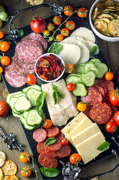 Summer Garden Foods summer garden antipasto platter bound by food