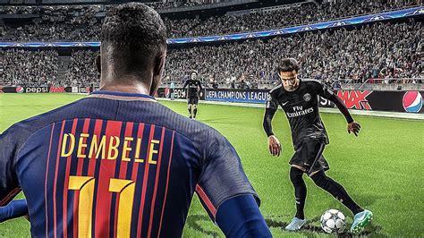 barcelona pes 2018 neymar jr psg vs fc barcelona pes 2018 hd barcelona