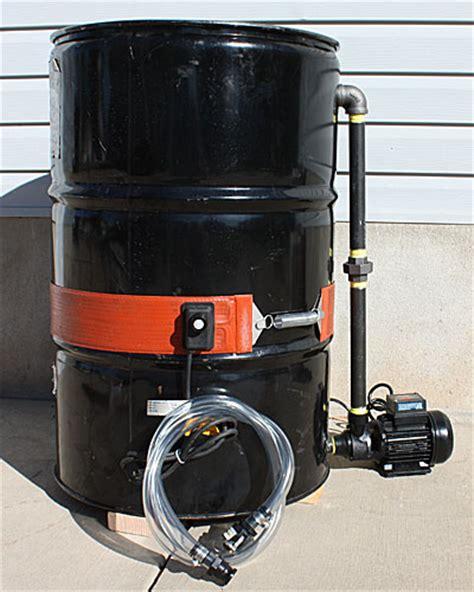 tutorial tank drum oil biodiesel drying tank dewater your vegetable oil
