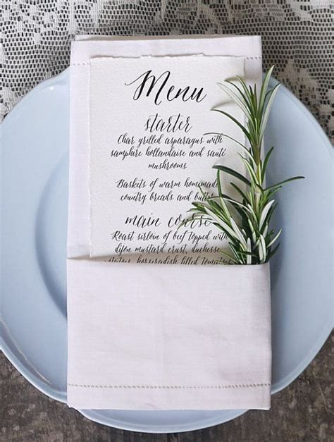 menu place cards template 25 best ideas about wedding menu cards on