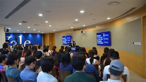 Yale Pre Mba Beijing by Yale Som Admissions Reception Prof Schott On