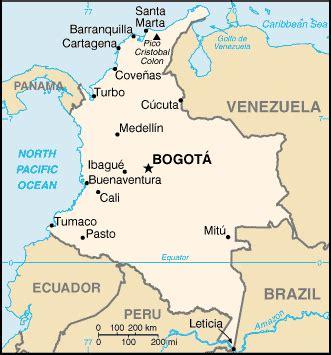 south america map bogota maps of bogota