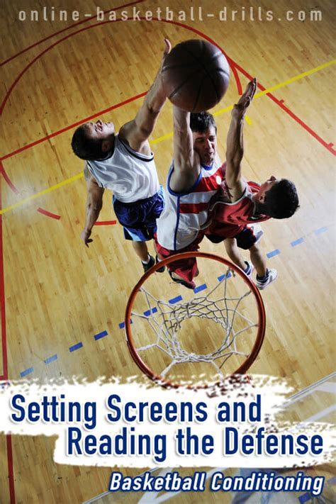 setting screen drills basketball basketball conditioing setting screens and reading the
