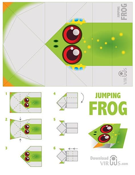 Origami Frog Template - 25 best ideas about frog template on frog