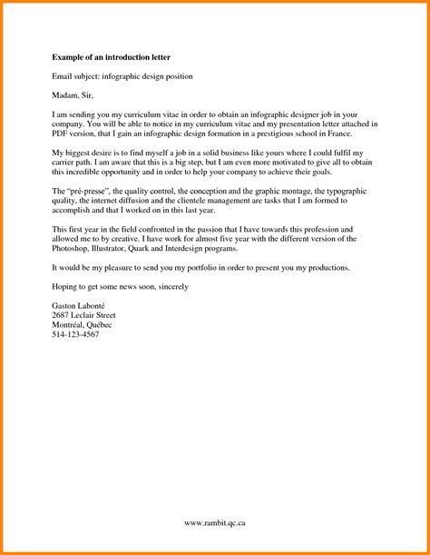 5 company introduction format introduction letter