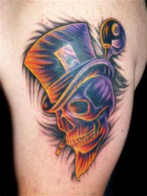 skull with tophat tattoo skull w top hat by joshua hibbard tattoonow