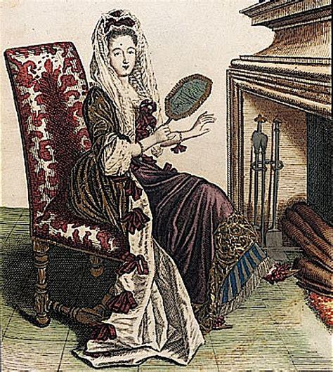 femme de chambre x ca 1685 femme de qualite en robe de chambre d hyver