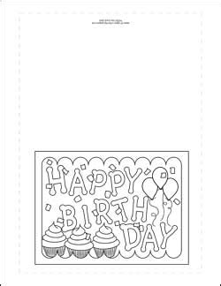printable birthday cards free to color birthday cards coloring pages print out one of these
