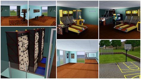 top 10 sims 3 mods techno360 in mod the sims sportsplex sports center gym