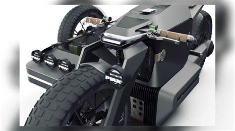 bmw icin hazirlanan sepetli motosiklet hayali tasarimini goeruen