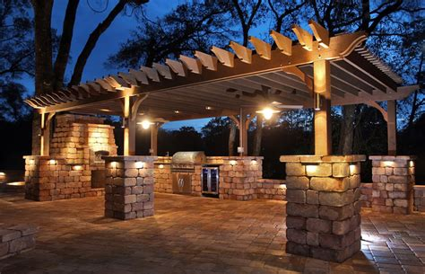 outdoor kitchen lighting ideas triyae lighting ideas for outdoor kitchens various