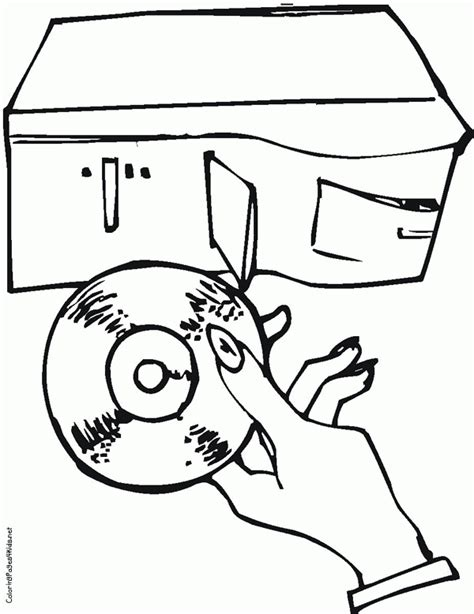 computer parts coloring pages coloring home