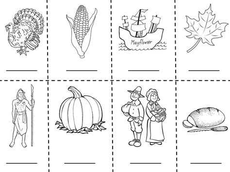thanksgiving dinner plate coloring page