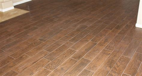 wood and tile floors wood grain tile flooring