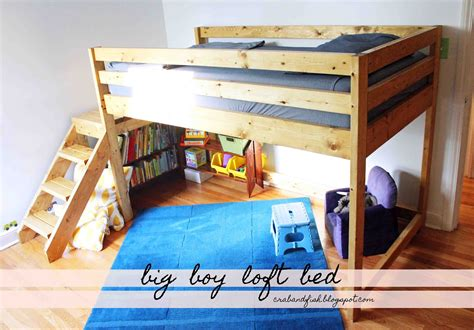 loft bed plans with stairs free plans for building a full size loft bed online