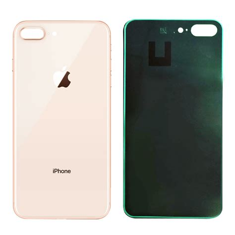 iphone 8 plus back glass cover oem battery door replacement w adhesive remova ebay