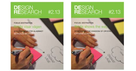 Design Research Journal | design research journal nr 2 2013