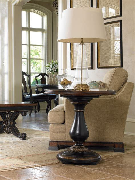 hooker accent tables hooker furniture living room grandover round accent table
