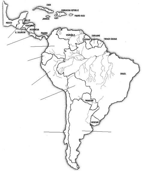 central and south america map quiz pictures south america map worksheet getadating