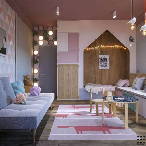 beautiful contemporary feminine apartment decoholic
