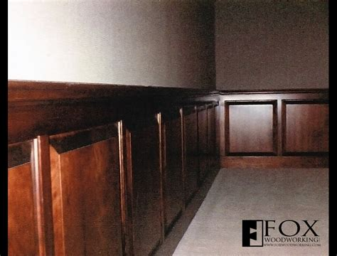 Cherry Wainscoting Cherry Wainscot Fox Woodworking
