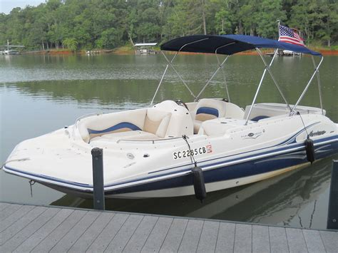 hurricane deck boat hull hurricane deck boat fd 202 io 2007 for sale for 18 000