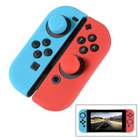 Silikon Silicone Con Nintendo Switch con controller soft silicone h 252 lle cover skin f 252 r nintendo switch ac735 ebay