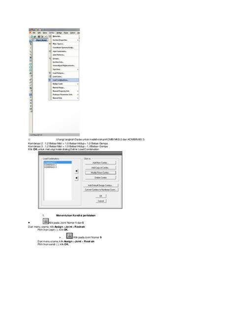 tutorial sap 2000 jembatan tutorial perhitungan struktur dengan sap 2000 v